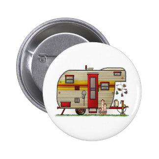 Yellowstone Camper Trailer 2 Inch Round Button