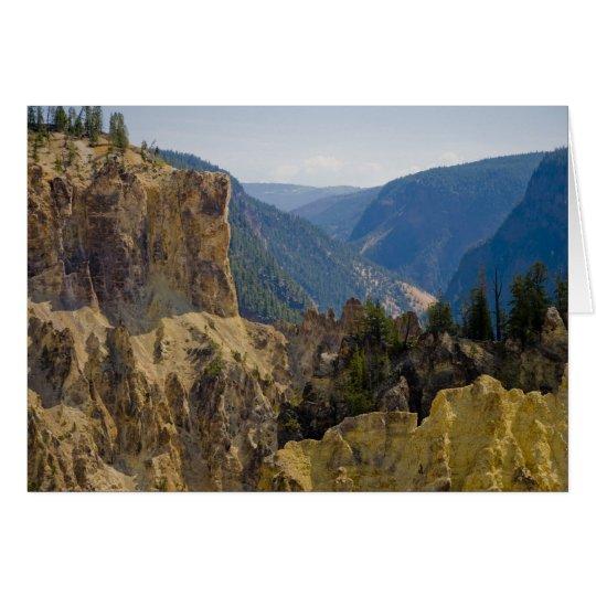 Yellowstone Canyon Card