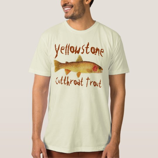 Yellowstone Cutthroat Trout T-Shirt