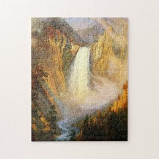 Yellowstone Falls Puzzle