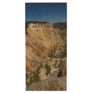 Yellowstone Grand Canyon Wood USB 3.0 Flash Drive