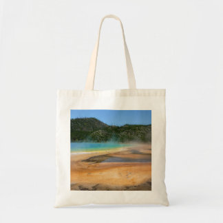 Yellowstone: Grand Prismatic Spring Tote Bag
