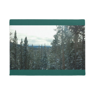 Yellowstone in Winter Doormat