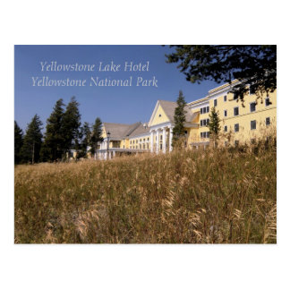 Yellowstone Lake Hotel Postcard