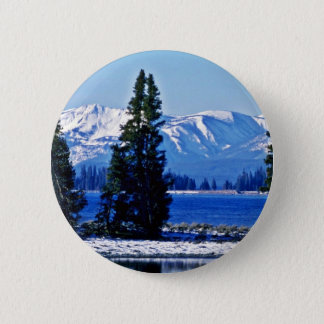 Yellowstone Lake - Yellowstone National Park 2 Inch Round Button