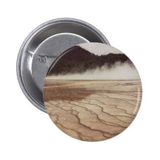 Yellowstone Mist 2 Inch Round Button