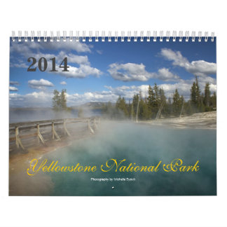 Yellowstone National Park 2014 Calendar
