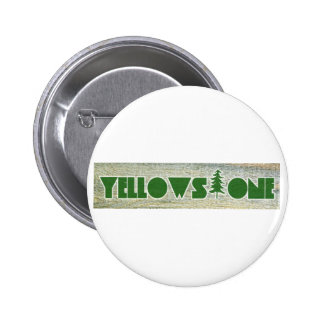 Yellowstone National Park 2 Inch Round Button