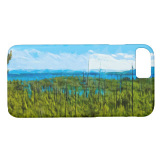 Yellowstone National Park Abstract Impressionism iPhone 7 Case