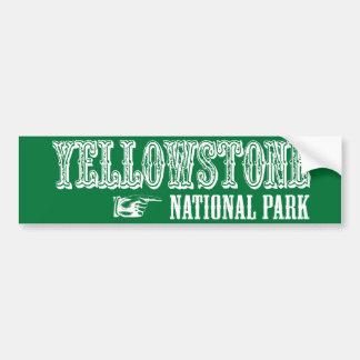Yellowstone National Park Bumper Sticker