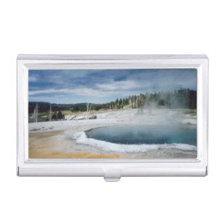 Yellowstone National Park Business Card Holder