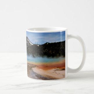 YELLOWSTONE NATIONAL PARK, GRAND PRISMATIC COFFEE MUG