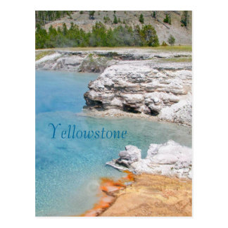 Yellowstone National Park Hotsprings Postcard