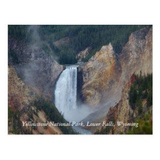 Yellowstone National Park, Lower Fa... Postcard