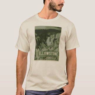 Yellowstone National Park Lower Falls Tee Shirt