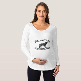 Yellowstone National Park Maternity T-Shirt
