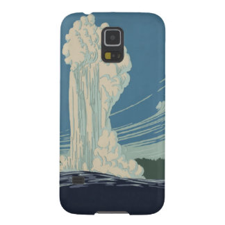 Yellowstone National Park Old Faithful Galaxy S5 Covers
