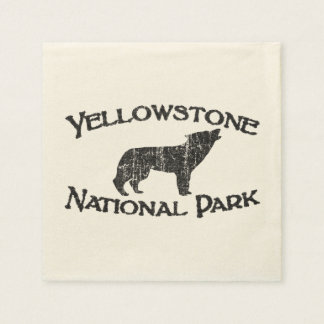 Yellowstone National Park Paper Napkins