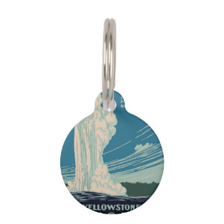 Yellowstone National Park Pet Tag
