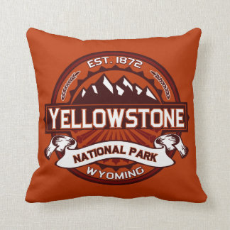 Yellowstone National Park Pillow