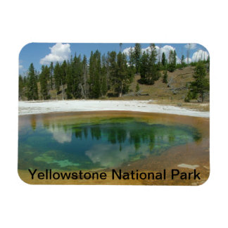 Yellowstone National Park Rectangular Photo Magnet