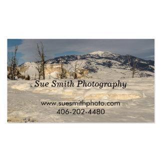Yellowstone National Park - Rusty Railroad Bridge Business Card
