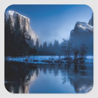 yellowstone-national-park square sticker