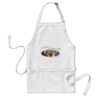 Yellowstone National Park the land of wonder Apron