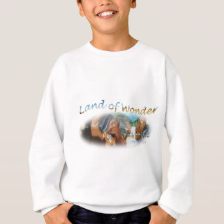 Yellowstone National Park, the land of wonder Sweatshirt