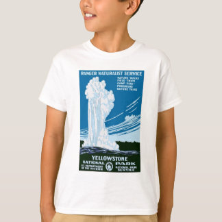 Yellowstone National Park Vintage T-Shirt