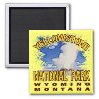 Yellowstone National Park, Wyoming Montana Magnet