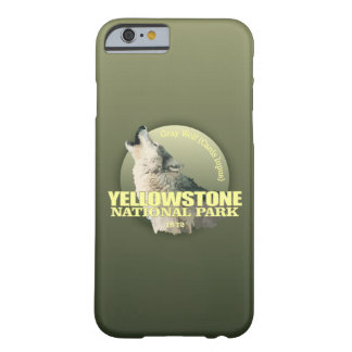 Yellowstone NP (Gray Wolf) WT Barely There iPhone 6 Case