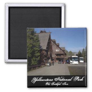 Yellowstone Old Faithful Inn Magnet