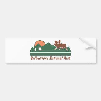 Yellowstone Park Bumper Sticker