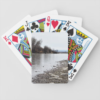 Yellowstone River Bicycle Playing Cards
