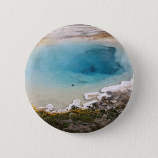 Yellowstone Spring 2 Inch Round Button
