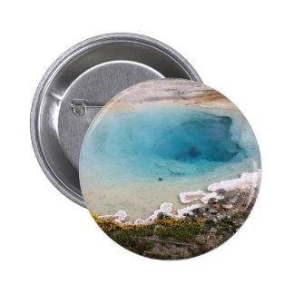 Yellowstone Spring 2 Inch Round Button