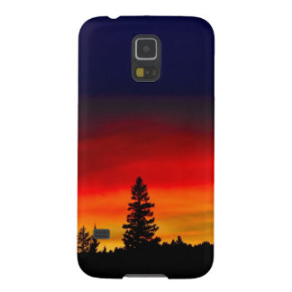 Yellowstone Sunset Case For Galaxy S5