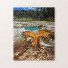 Yellowstone Thermal Pool Jigsaw Puzzle