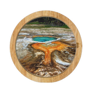 Yellowstone Thermal Pool Rectangular Cheese Board