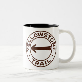Yellowstone Trail Two-Tone Coffee Mug