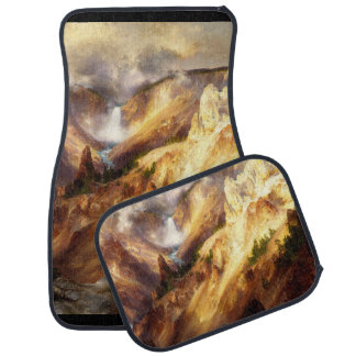 Yellowstone Waterfall National Park Car Floor Mats