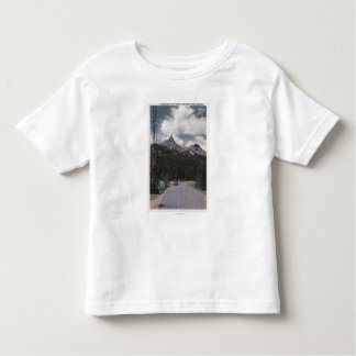 Yellowstone, WY - Index & Pilot Peaks, Cooke Toddler T-shirt