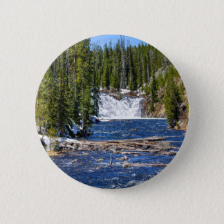 Yellowstone Wyoming 2 Inch Round Button