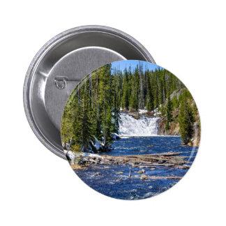 Yellowstone Wyoming 2 Inch Round Button