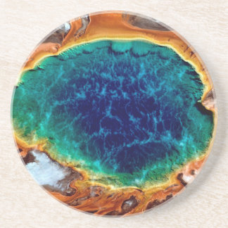 Yellowstone Wyoming Beverage Coaster