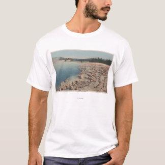 Yellowstone, WYView of Sapphire Pool T-Shirt