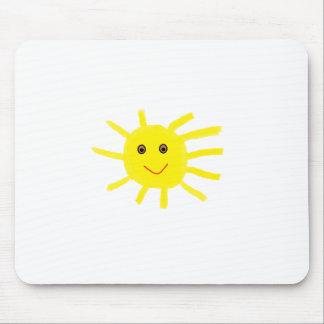 yellowsun mouse pad