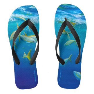 Yellowtails Flip Flops