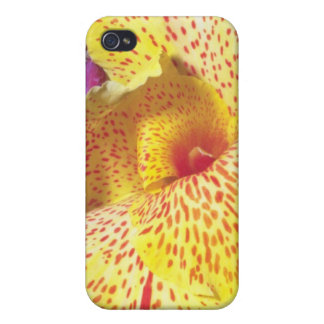 yelow led Yellow flowers iPhone 4/4S Cases